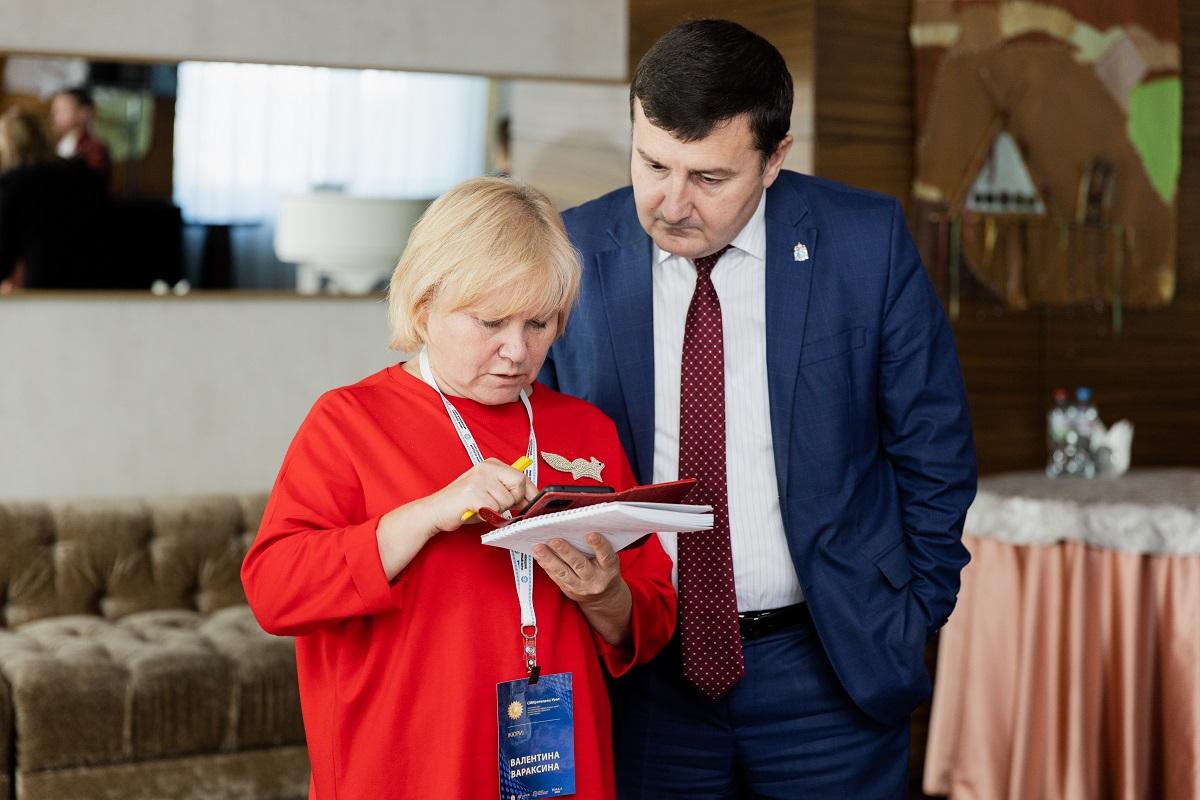 Валентина Вараксина и Хизри Алхаматов