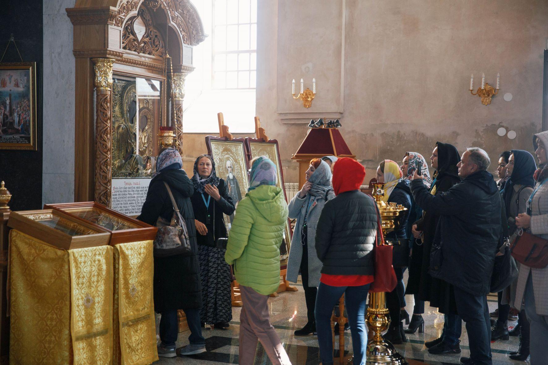 В Свято-Троицком соборе в Цивильске