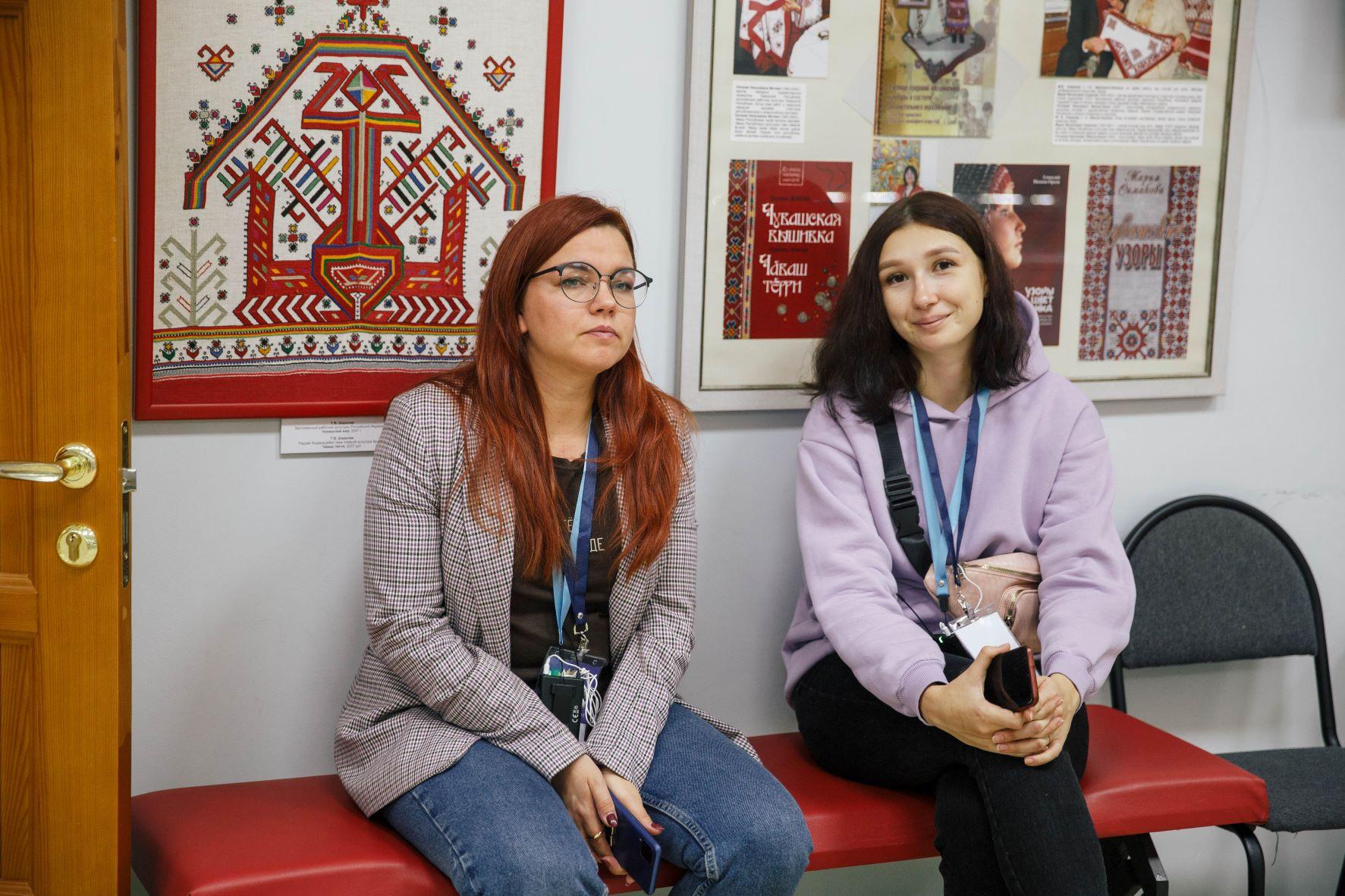 Ирина Молоканова (Йошкар-Ола) и Елена Фомина (Пенза)